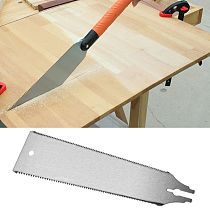Hand Pull Saw Blade Replacement 250D Flexible Fine-toothed Woodworking Household Tool Timbers