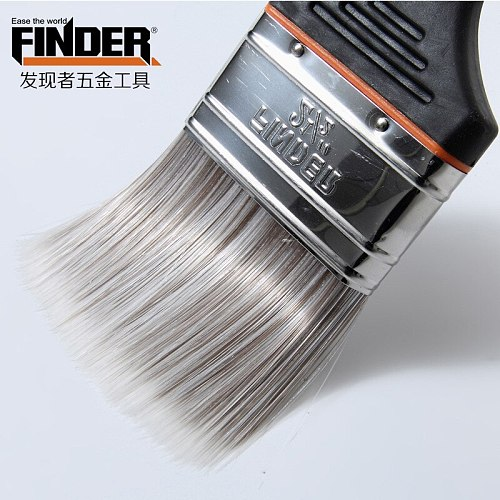Free Shipping 6 pcs/Set ,1-4 Inch Super Paint Brush PTE Hair Oil Paint Brush A For Art Supply Or Home Decoration Brush