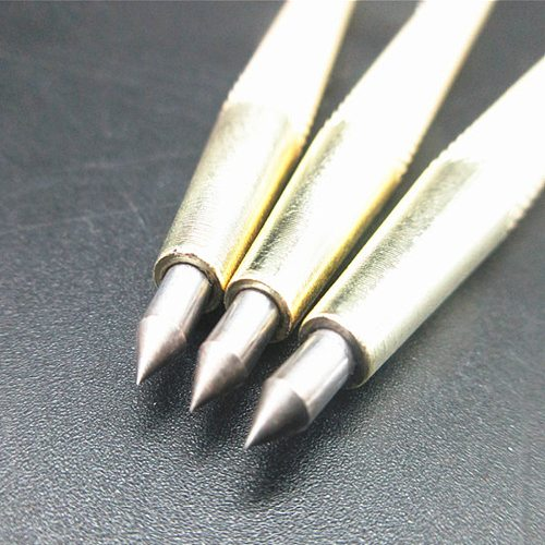 1pc Metal Steel  Marking Engraving Pen Tungsten Carbide Tip Scriber Pen for Glass Ceramic Wood Carving Hand Tools