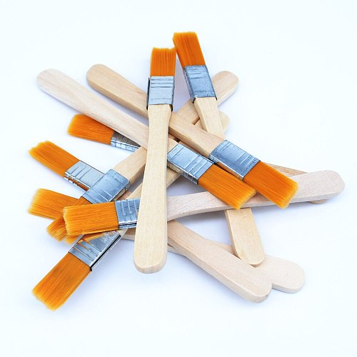 50pcs/lots soft brush dust with wooden handle mobile phone tablet computer maintenance cleaning tools