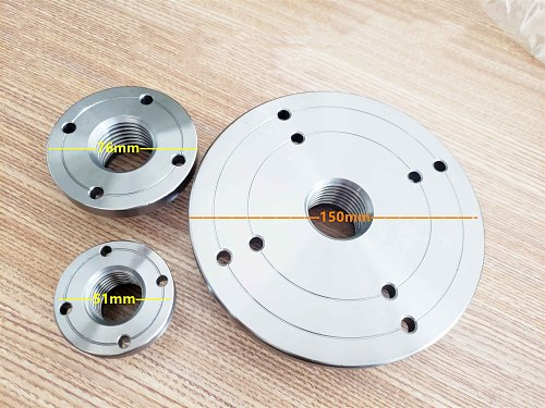 M33*3.5 Lathe spindle flange woodworking lathe accessories, lathe and wood connection tools