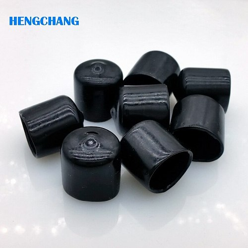 16mm protective cover Rubber Covers Dust Cap for N type SO239 connector metal tubes 50pcs/lot