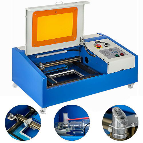 200*300mm Mini Laser Engraving Machine 40W Laser Cutter CO2 Laser Engraver 3020