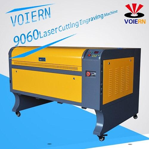 VOIERN WR6090 900*600mm 60W RUIDA co2 laser engraving machine220v / 110v laser cutter engarver diy CNC engraving machine