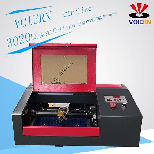 VOIERN WR3020 laser engraving cutting maching laser engraver  laser cutter working area 300*200mm 40W