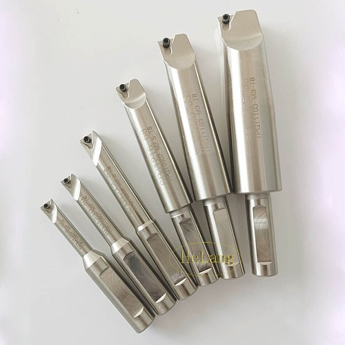 New 6pcs  indexable boring bar with 12mm shank  boring bar for F1-12 50mm Boring head +30pcs boring inserts boring tool