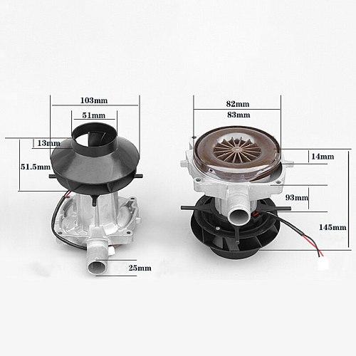 Blower Motor for Parking Heater 24V for Eberspacher D2 2KW Big Leaf Assembly Combustion Air Fan