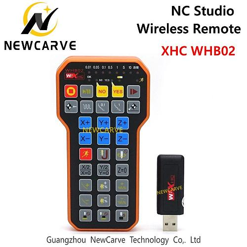 Nc Studio USB Wireless Remote Handle Weihong DSP Control Handle For CNC Engraving Cutting Machine XHC WHB02 NEWCARVE