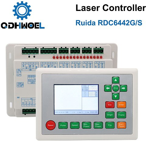 Ruida RDC6442S RDC6442G Co2 Laser Controller for Laser Engraving and Cutting MachineRD Control System
