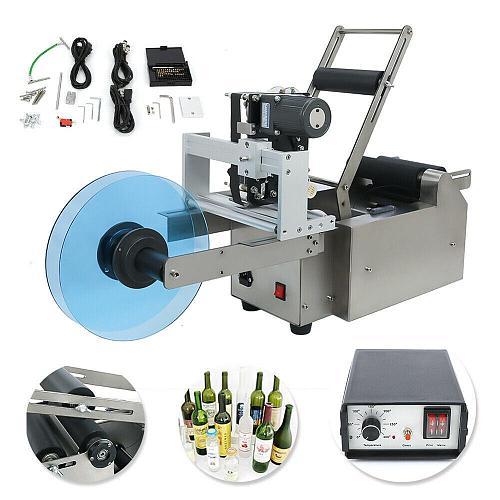 MT-50D Automatic Round Bottle Labeling Machine Labeller & Date Code Printer