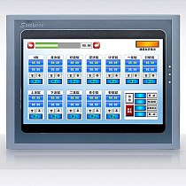 New Cheap 10.2  universal Display and control HMI Touch Screen 10.2 INCH SK-102HS with Ethernet SAMKOON Replace SK-102AS