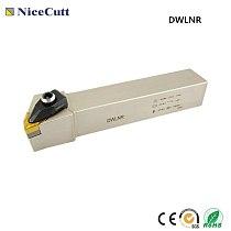 Free Shipping External Turning Tool Holder DWLNR Lathe Cutter DWLNR2020K08 DWLNR2525M08 for Turning insert WNMG080408 Nicecutt