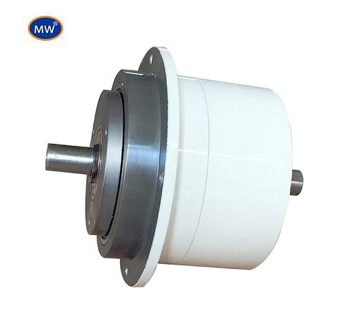High quality magnetic particle clutch for transmission system