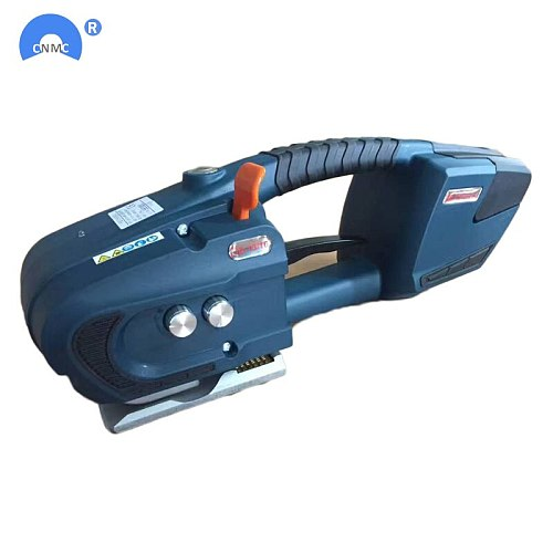 Battery Powered PET PP Strapping Tools 13mm-16mm For Pallet wrapping machine electrical