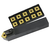 MSDNN2020K12 MSDNN1616H12 MSDNN2525M12 External Turning Tool Holder SNMG12 Carbide Inserts MVVNN Lathe Cutting Machine Tools Set