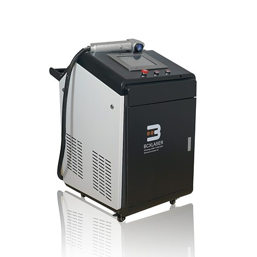 100W/200W/500W Rust removal fiber laser cleaning machine for dirt oil rust paint cleaning
