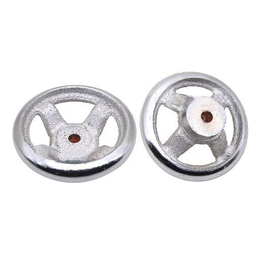 3 4 6 6.5 5 8 Spoke Round Iron Hand Wheel For Lathe Milling Grinder