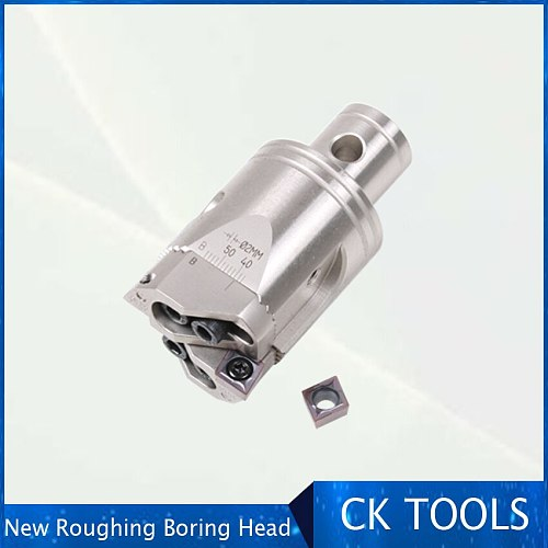 New High precision RBH Twin bit RBH52-70 Twin-bit Rough serraed Boring Head used for deep holes boring tool New