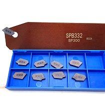 SPB226 SPB326 SPB323 SPB432 +10PCS SP200 SP300 SP400 grooving inserts carbide inserts turning tool