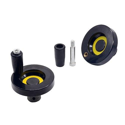 1pc CNC 3D Printer hole diameter 8mm 6mm 10mm hand wheel Diameter 63mm for T8 lead screw T6 T8 T10 Trapezoidal Lead Screw