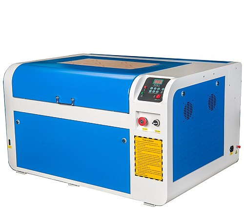 600*400 100w CNC laser cutting machine for wooden paper non-metal