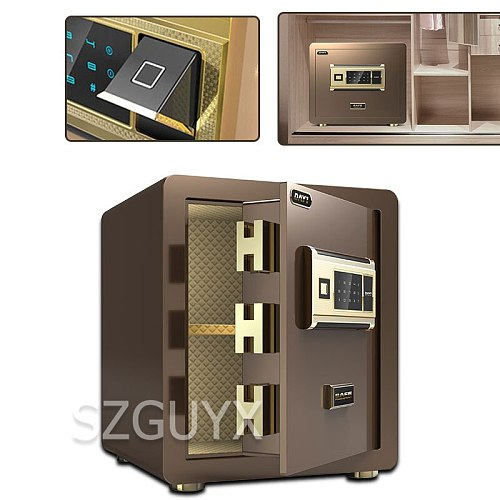Embedded all-steel anti-theft safe Office Home Safe 40cm password fingerprint Remote monitoring Safe