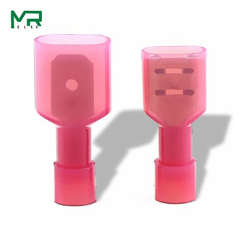 FDFN1.25-250 +MDFN 1.25-250  Red   NYLON  Male Female male electric wire connections  Crimp Terminal Connectors