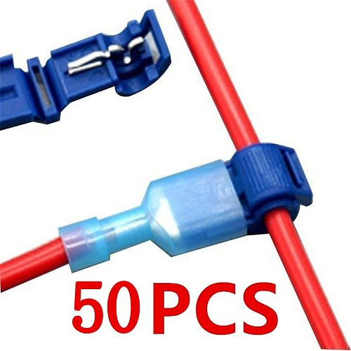 50Pcs(25set) Quick Electrical Cable Connectors Snap Splice Lock Wire Terminal Crimp Wire Connector Waterproof Electric Connector