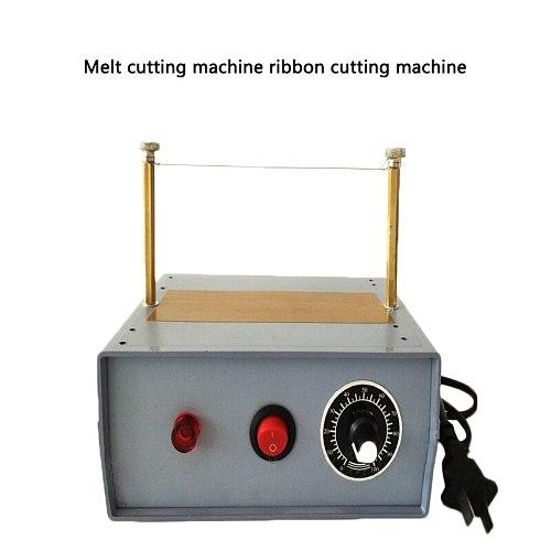 Electric Heating Wire Foam Cutting Machine Adjustable Temperature Cut Band Melting Cut Machine Mask Hot Cutting Machine 100-240V