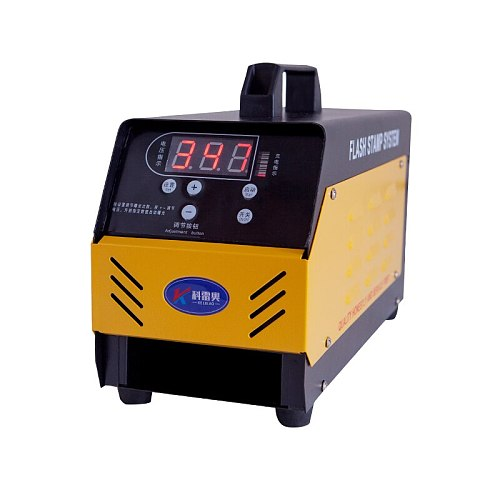 P20 updated to P30 flash stamping machine Digital Temperature control photosensitive seal and making machine