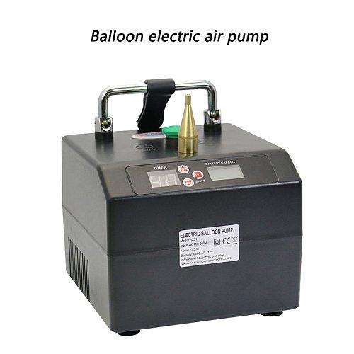 Balloon Electric Air Pump Magic Balloon 5 Inch Round Balloon B231 High Pressure Type Single Hole Long Balloon Inflator110-240V