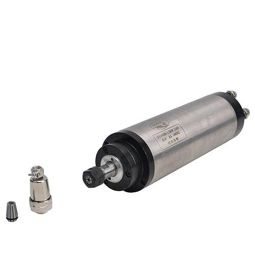 CNC Spindle Motor 110V/220V Water Cooled Spindle 1.5KW 65mm Clamp ER11 Collet Spindle Motor For Engraving Milling Machine