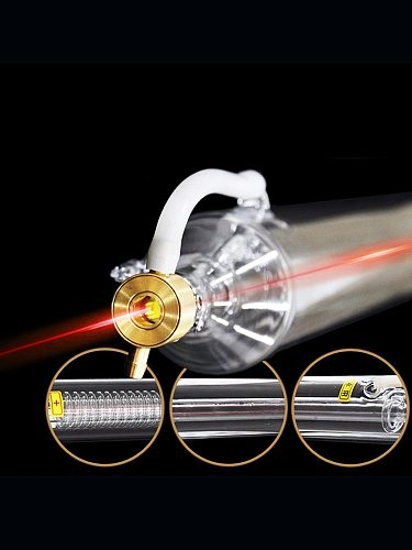 Veci  CO2 Laser Tube 300w 1800mm Glass Laser Lamp For CO2 Laser Engraving Machine Pipe Carving Cutting Marking Spare Part M