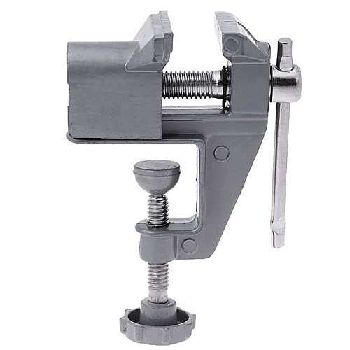 Suction Mini Vice Table Vise Tool Clamp Fixed Building Screw Aluminium Alloy Vise L0415