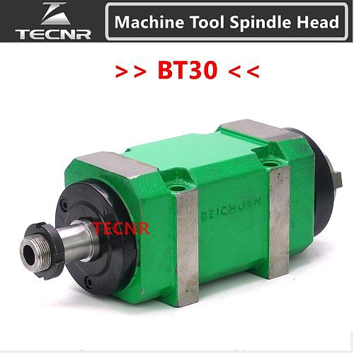 1.5KW 2Hp BT30 Max. 3000~8000rpm Power Head Power Unit Machine Tool Spindle Head for boring milling drilling tapping Machine