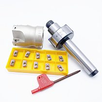 MT2 FMB22 M10 MT3 FMB22M12 MT4 FMB22 M16+BAP300R 40-22-4T Combi Shell Mill Arbor Morse Taper Tool Holder CNC Milling Machine