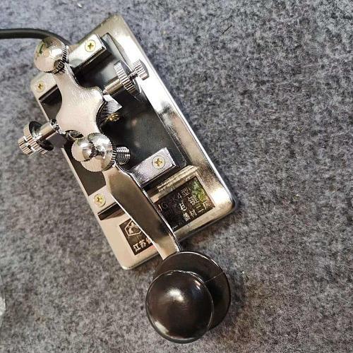K-4 Hand Key Short Wave Radio Morse Morse Code Cw Telegraph K4 Key