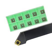 1pc SSSCR1616H09 SSSCR2020K09 SSSCL2525M09 External Turning Tool Holder SCMT Carbide Inserts Lathe CNC Cutting Tools Set