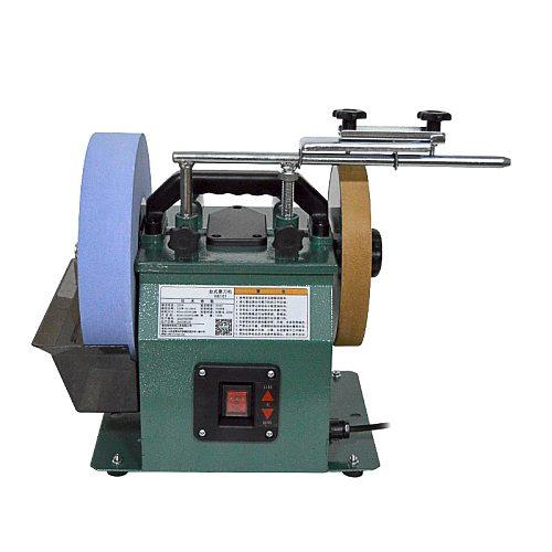 10 Inch Knife Sharpener Low Speed Grinder Polishing Machine Positive And Reverse White Corundum Sharpener 220V