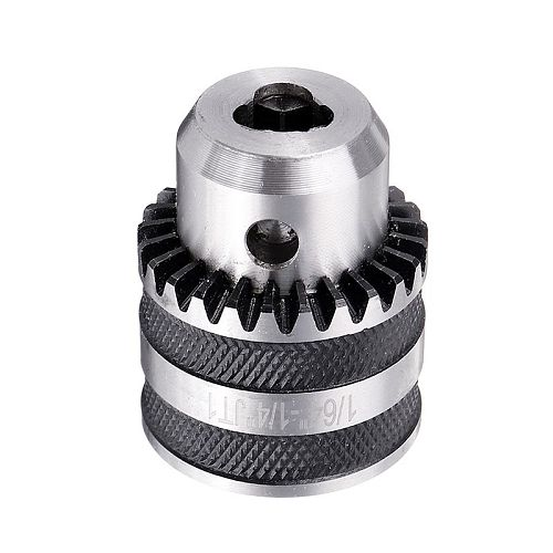DANIU JT1 JT2 JT3 JT6 Lathe Drill Chuck Lathe Tools Smooth Jaw Movement Advanced Gripping Torque for Drilling Lathe Milling