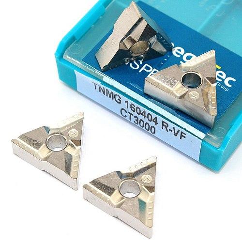 TNMG 160404 R VF CT3000 Cermet Blade Carbide Inserts External Turning Tool TNMG 160404 Cnc Cutting Tools CNC Lathe Cutter Tools