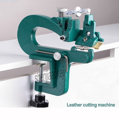 1PC Leather Cutting Machine Manual Peeling Machine 809G Leather Splitter Vegetable Tanned Leather Peeler Leathers Paring Machine
