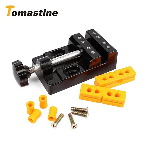 57mm Adjustable Mini Jaw Bench Clamp Drill Press Vice Table Vise Multifunction DIY Sculpture Craft Hand Tool Woodworking set