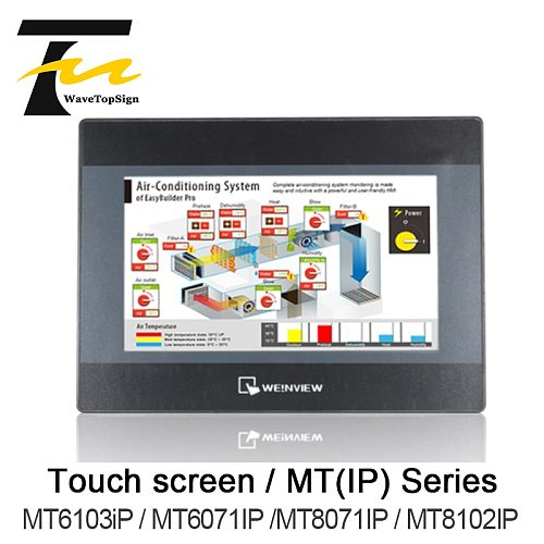 Weinview Touch screen MT-IP Series MT6103iP MT6071IP MT8071IP MT8102IP 7inch 10inch +download data cable+comunication cable