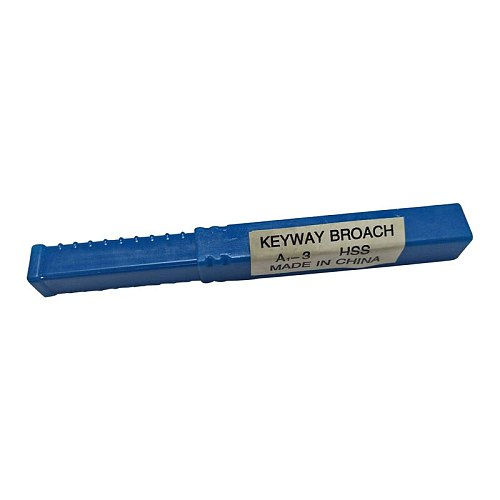 3mm A Push-Type Keyway Broach Metric Sized High Speed Steel Broaching Tools  knife for CNC Cutting Machine Tool