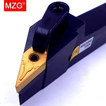 MZG 20mm 25mm MVJNR1616K16 Machining Boring Cutter Metal Cutting Carbide Toolholder External Turning Tool Holder CNC Lathe Arbor