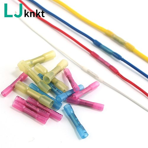 waterproof solder quick wire connectors heat shrinkable set insulated middle connection  Splice 10/20/50/100pcs  Crimp connector