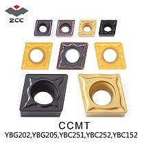 10PCS/LOT ZCCCT TOOL CCMT  ZCC.CT tungsten Carbide Cutting tools turning insert  CCMT06 CCMT09 CCMT12  EM HM FOR P M