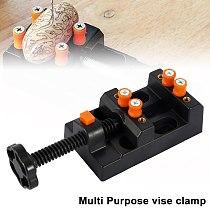 Miniature Hobby Clamp On Table Bench Vise Tool Vice Muliti-Funcational