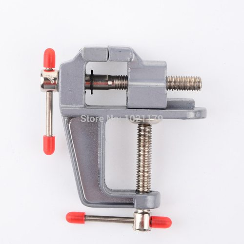Mini machine tool lathe drill milling machine vise DIY table vise small aluminum vise bench vise